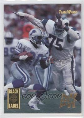 1995 Collector's Edge Time Warp Black Label 22K Gold #5 - Deacon Jones, Barry Sanders