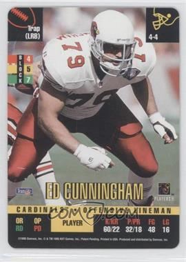 1995 Donruss Red Zone - [Base] #EDCU - Ed Cunningham