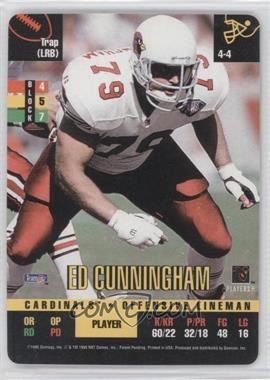 1995 Donruss Red Zone [???] #N/A - Ed Cunningham