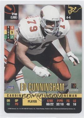 1995 Donruss Red Zone #N/A - Ed Cunningham
