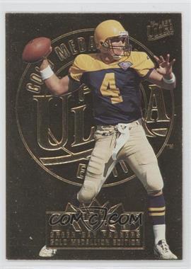 1995 Fleer Ultra Gold Medallion #112 - Brett Favre