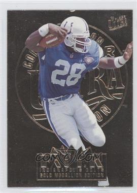 1995 Fleer Ultra Gold Medallion #133 - Marshall Faulk