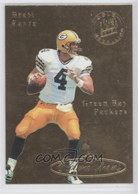 1995 Fleer Ultra Gold Medallion #490 - Brett Favre