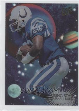 1995 Fleer Ultra Rising Star #5 - Marshall Faulk