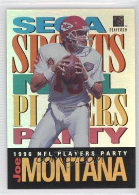 1995 NFL Players Party (Stay Cool in School) #JOMO - Joe Montana Upper Deck