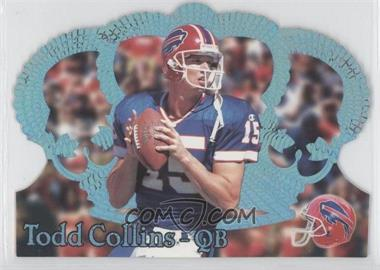 1995 Pacific Crown Royale Blue Holofoil #106 - Todd Collins