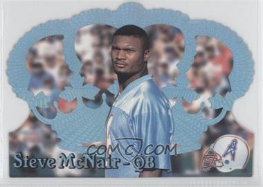 1995 Pacific Crown Royale Blue Holofoil #126 - Steve McNair
