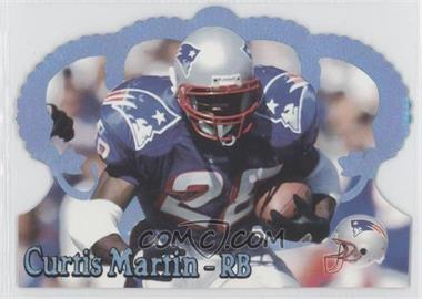 1995 Pacific Crown Royale Blue Holofoil #78 - Curtis Martin