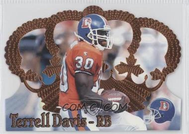 1995 Pacific Crown Royale Copper #136 - Terrell Davis