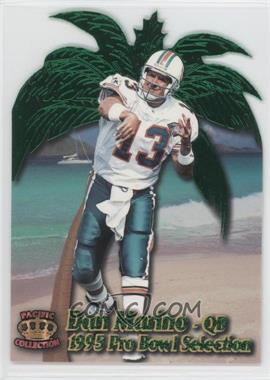 1995 Pacific Crown Royale Pro Bowl Die-Cuts #PB-5 - Dan Marino
