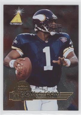 1995 Pinnacle Super Bowl Card Show - [Base] #11 - Warren Moon