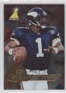 1995 Pinnacle Super Bowl Card Show [???] #11 - Warren Moon