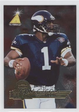 1995 Pinnacle Super Bowl Card Show #11 - Warren Moon