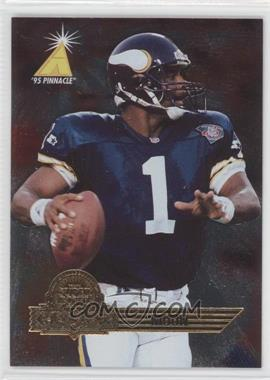 1995 Pinnacle Super Bowl Card Show #11 - Warren Moon