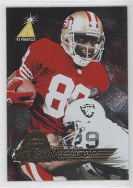 1995 Pinnacle Super Bowl Card Show #12 - Jerry Rice