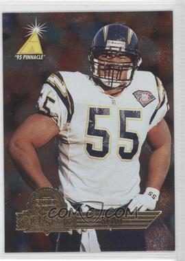 1995 Pinnacle Super Bowl Card Show #14 - Junior Seau