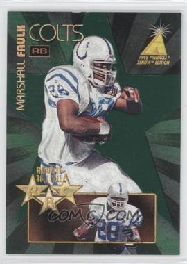 1995 Pinnacle Zenith Rookie Roll Call #RC1 - Marshall Faulk /1200