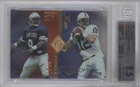 Steve McNair, Kerry Collins, Todd Collins, Chad May [BGS 8.5]
