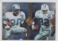 Barry Sanders, Emmitt Smith, Marshall Faulk, Errict Rhett