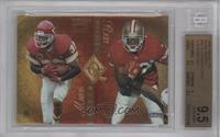 Marcus Allen, Ricky Watters, William Floyd, Natrone Means [BGS 9.5]