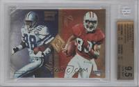 Michael Irvin, Jerry Rice, Tim Brown, Cris Carter [BGS 9.5]