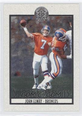 1995 SP Championship Series - Showcase of the Playoffs #PS18 - John Elway