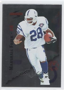 1995 Score Red Siege Artist's Proof #4 - Marshall Faulk