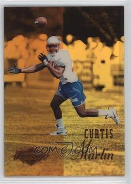 1995 Select Certified Edition - [Base] - Gold Mirror #117 - Curtis Martin