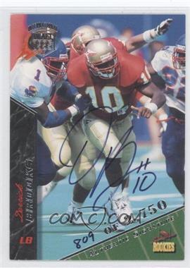 1995 Signature Rookies - [Base] - International Signatures [Autographed] #11 - Derrick Brooks /2750