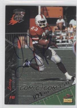 1995 Signature Rookies - [Base] - International Signatures [Autographed] #46 - Larry Jones /2750