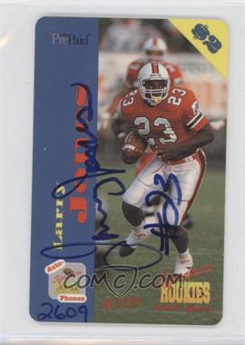 1995 Signature Rookies Auto-Phonex - $2 Phone Cards - Autographs [Autographed] #33 - Larry Jones /3750