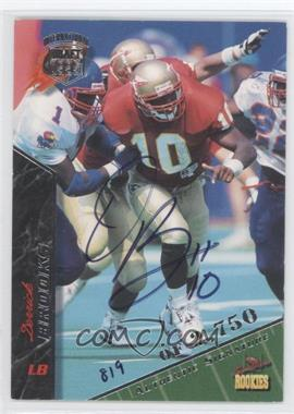 1995 Signature Rookies International Signatures [Autographed] #11 - Derrick Brooks /2750