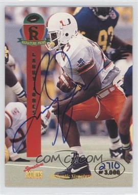 1995 Signature Rookies Prime [???] #25 - [Missing] /3000