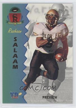 1995 Signature Rookies Prime [???] #P-5 - Rashaan Salaam