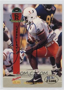 1995 Signature Rookies Prime Autographs [Autographed] #25 - Larry Jones /3000