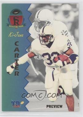 1995 Signature Rookies Prime TD Club Previews #P-1 - Ki-Jana Carter