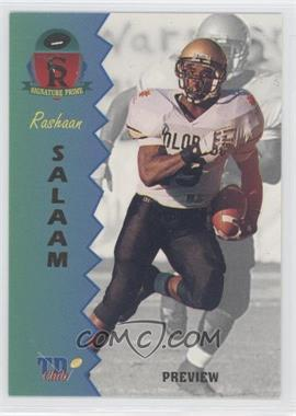 1995 Signature Rookies Prime TD Club Previews #P-5 - Rashaan Salaam