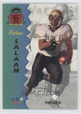 1995 Signature Rookies Prime TD Club Previews #P-5 - Rashaan Salaam