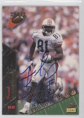 1995 Signature Rookies Promos #7 - Frank Sanders /1000