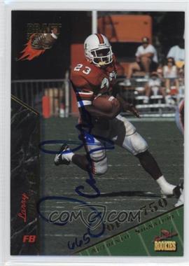 1995 Signature Rookies Signatures [Autographed] #46 - Larry Jones /7750