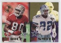 Jerry Rice, Emmitt Smith /250