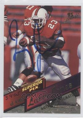 1995 Superior Pix Autographs [Autographed] #103 - Larry Jones /4000