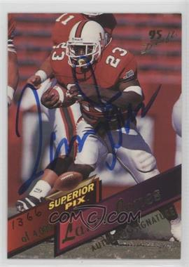 1995 Superior Pix Autographs [Autographed] #103 - Larry Jones /4000