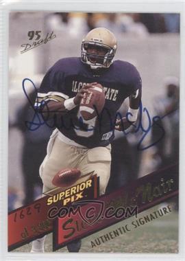 1995 Superior Pix Autographs [Autographed] #3 - Steve McNair /3000