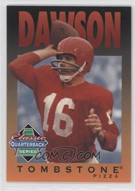 1995 Tombstone Pizza Classic Quarterback Series - [Base] #3 - Len Dawson