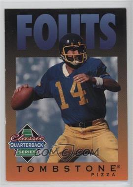 1995 Tombstone Pizza Classic Quarterback Series - [Base] #4 - Dan Fouts
