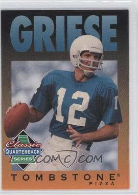 1995 Tombstone Pizza Classic Quarterback Series - [Base] #5 - Bob Griese