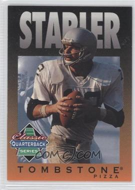 1995 Tombstone Pizza Classic Quarterback Series - [Base] #9 - Ken Stabler