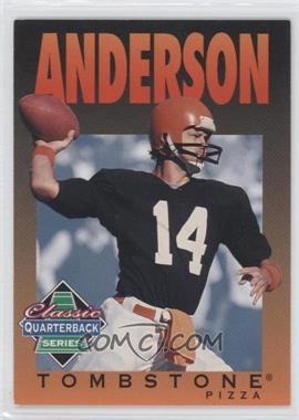 1995 Tombstone Pizza Classic Quarterback Series #1 - Ken Anderson