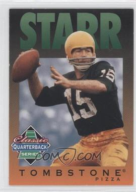 1995 Tombstone Pizza Classic Quarterback Series #10 - Bart Starr